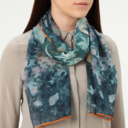 Carnation Lily, Lily Rose silk scarf