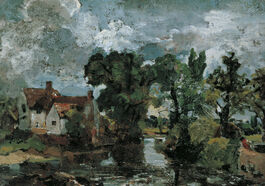 John Constable: The Mill Stream
