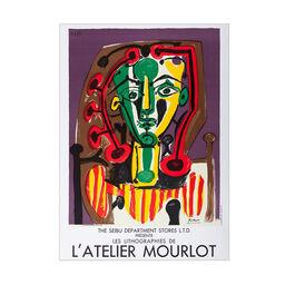Pablo Picasso: Les Lithographies de L'Atelier Mourlot unframed lithographic poster