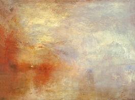 Turner: Sun Setting over a Lake