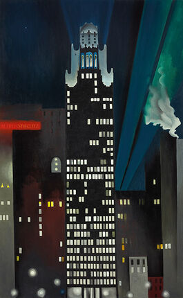 Georgia O'Keeffe: Radiator Building - Night, New York