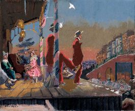 Walter Richard Sickert: Brighton Pierrots