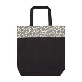 Anni Albers grey Intaglio tote bag