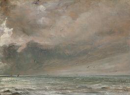John Constable: The Sea near Brighton