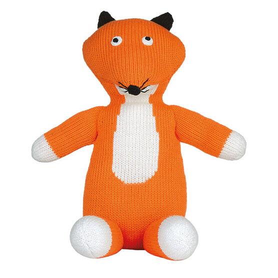 Ruth Green knitted fox