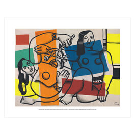 Fernand Léger: Two Women Holding Flowers  mini print