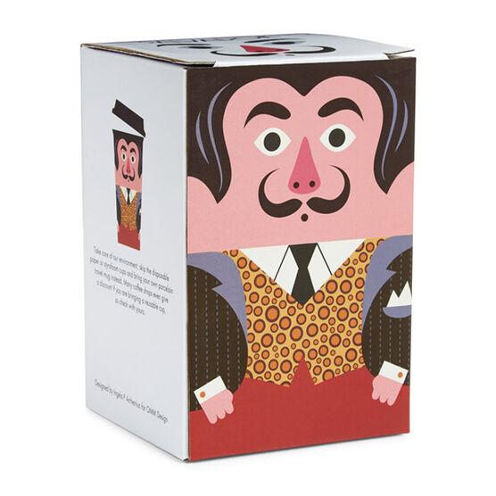 Salvador Dali ceramic travel mug