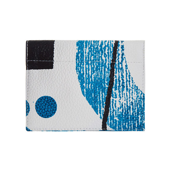 Laura Slater teal leather purse