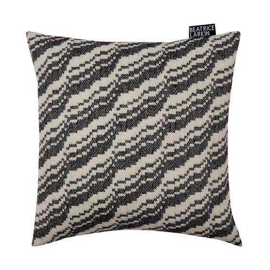 Beatrice Larkin monochrome cushion