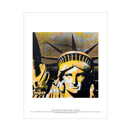 Andy Warhol: Statue of Liberty mini print