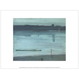 Whistler Nocture: Blue and Silver - Chelsea (exhibition print)