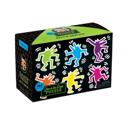 Keith Haring glow in the dark puzzle