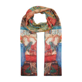 Edward Burne-Jones Laus Veneris silk scarf