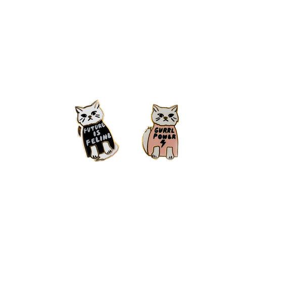 Gurrl Power earrings