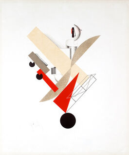 Lissitzky: 5. Globetrotter (in Time), from Figurines
