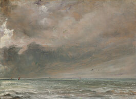John Constable: The Sea near Brighton