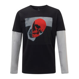 Andy Warhol Skull long-sleeved t-shirt