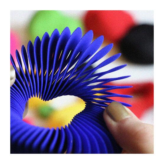 Blue Helix 3D printed bracelet