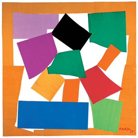 Henri Matisse The Snail (exhibition print)