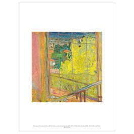 Pierre Bonnard: The Studio with Mimosa exhibition print