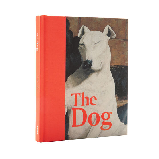 Signed edition of The Dog angled cover