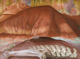 O'Keeffe: Red Hills and Bones