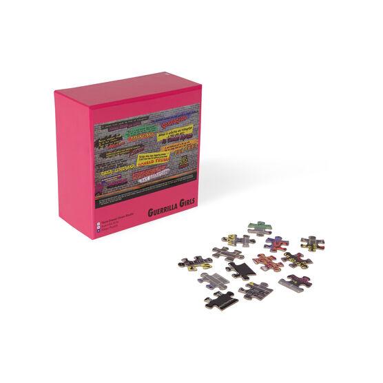 Guerrilla Girls Disturbing the Peace jigsaw puzzle