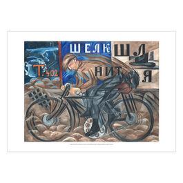 Natalia Goncharova: Cyclist poster
