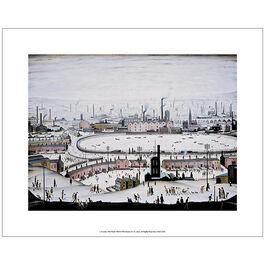 Lowry The Pond (unframed print)