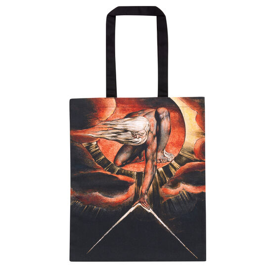 William Blake Ancient of Days tote bag