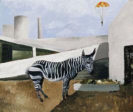 Wood: Zebra and Parachute