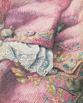 Helen Beatrix Potter: The Mice Stitching Button-Holes