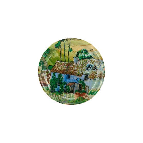 Van Gogh Farms near Auvers circular coaster