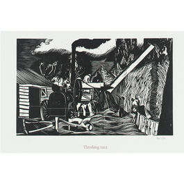 Nash Threshing (unframed print)