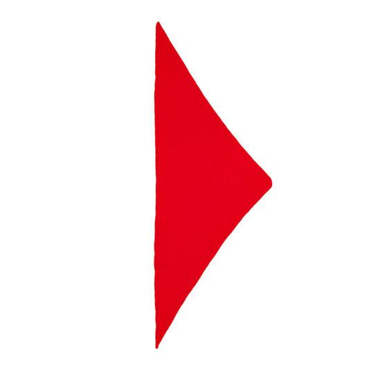Plain triangle neckerchief