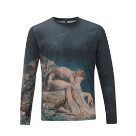 William Blake Newton long-sleeved t-shirt