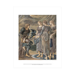 Edward Burne-Jones: Perseus and the Sea Nymphs mini print