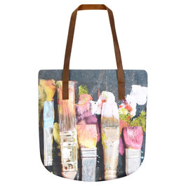 Ella Doran wet paint tote bag