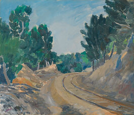 Augustus John: The Little Railway, Martigues
