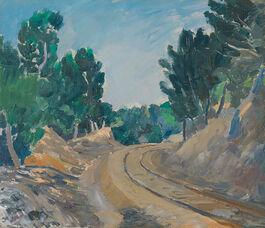 Augustus John: The Little Railway, Martigues