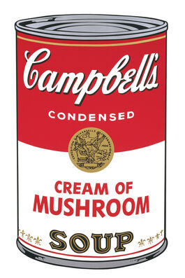 Andy Warhol: Campbell's Soup I: Cream of Mushroom