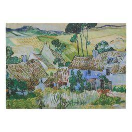 Van Gogh Farms near Auvers tea towel