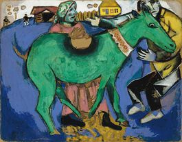 Chagall: The Green Donkey