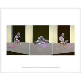 Francis Bacon: Triptych August 1972 mini print
