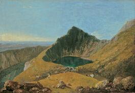 Richard Wilson: Llyn-y-Cau, Cader Idris