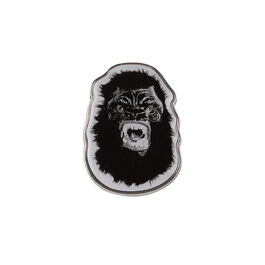 Guerrilla Girls Gorilla Mask pin badge