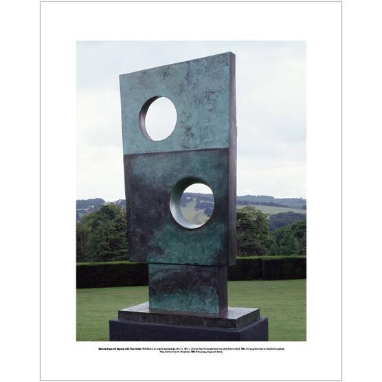Barbara Hepworth Squares with Two Circles (mini print)