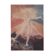 William Blake Albion Rose pocket notepad