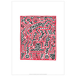 Keith Haring: Fun Gallery exhibition poster