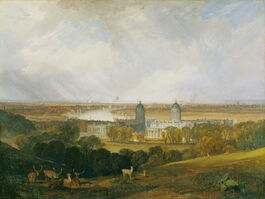 Turner: London from Greenwich Park